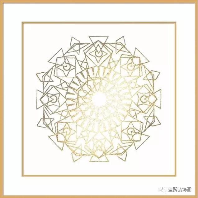 金葵装饰画