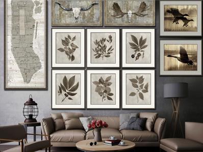 客厅装饰画有哪些类别?金葵家居告诉您!